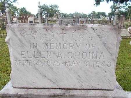 CHOINA, ELLEN A - Hancock County, Mississippi | ELLEN A CHOINA - Mississippi Gravestone Photos