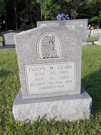 CLARK, EVELYN M - Hancock County, Mississippi | EVELYN M CLARK - Mississippi Gravestone Photos