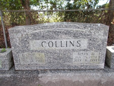 COLLINS, MARY H - Hancock County, Mississippi | MARY H COLLINS - Mississippi Gravestone Photos