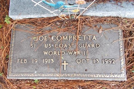 COMPRETTA (VETERAN WWII), JOE (NEW) - Hancock County, Mississippi   JOE (NEW) COMPRETTA (VETERAN WWII) - Mississippi Gravestone Photos