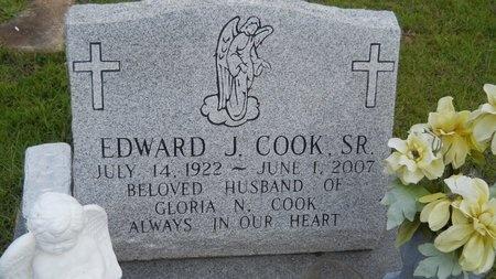 COOK, EDWARD J, SR - Hancock County, Mississippi | EDWARD J, SR COOK - Mississippi Gravestone Photos