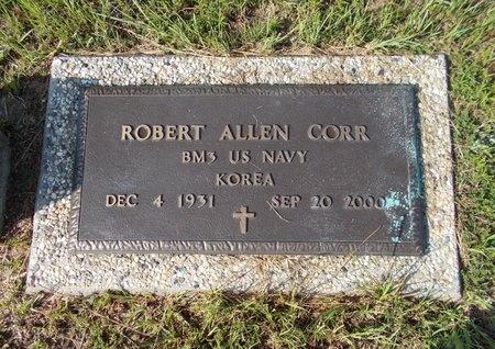 CORR (VETERAN KOR), ROBERT ALLEN (NEW) - Hancock County, Mississippi | ROBERT ALLEN (NEW) CORR (VETERAN KOR) - Mississippi Gravestone Photos
