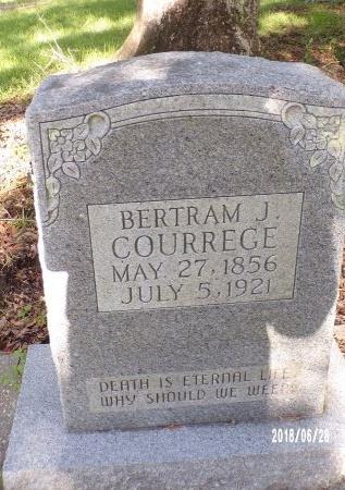COURREGE, BERTRAM JOHN - Hancock County, Mississippi | BERTRAM JOHN COURREGE - Mississippi Gravestone Photos