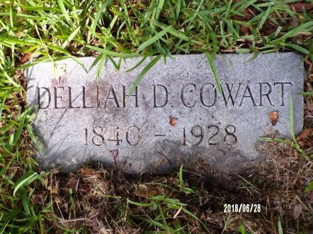 DEPRIEST COWART, DELLIAH - Hancock County, Mississippi | DELLIAH DEPRIEST COWART - Mississippi Gravestone Photos