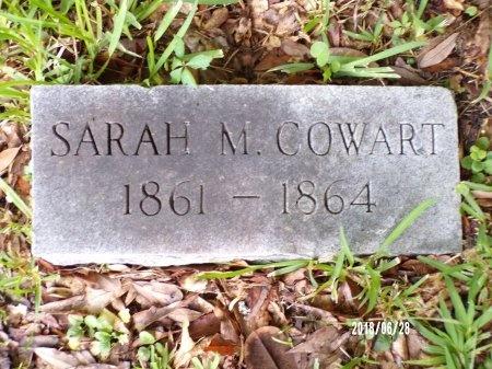 COWART, SARAH M - Hancock County, Mississippi | SARAH M COWART - Mississippi Gravestone Photos