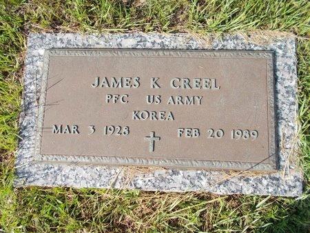 CREEL (VETERAN KOR), JAMES K (NEW) - Hancock County, Mississippi | JAMES K (NEW) CREEL (VETERAN KOR) - Mississippi Gravestone Photos