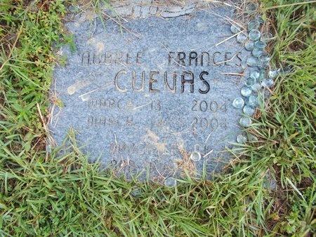 CUEVAS, AUBREE FRANCES - Hancock County, Mississippi | AUBREE FRANCES CUEVAS - Mississippi Gravestone Photos