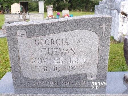 CUEVAS, GEORGIA A - Hancock County, Mississippi   GEORGIA A CUEVAS - Mississippi Gravestone Photos