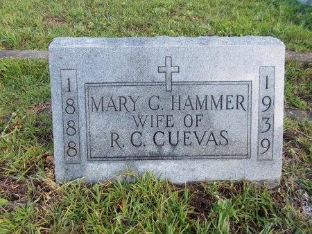 CUEVAS, MARY G - Hancock County, Mississippi | MARY G CUEVAS - Mississippi Gravestone Photos