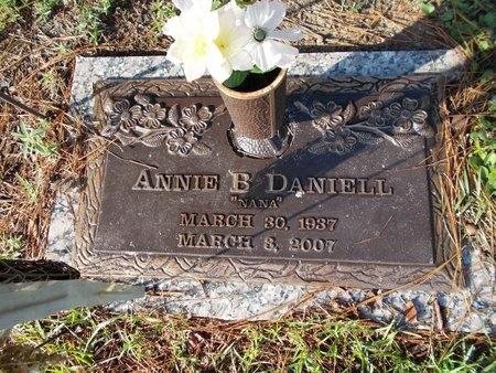 DANIELL, ANNIE B - Hancock County, Mississippi   ANNIE B DANIELL - Mississippi Gravestone Photos