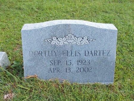 ELLIS DARTEZ, DORTHY - Hancock County, Mississippi | DORTHY ELLIS DARTEZ - Mississippi Gravestone Photos