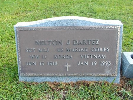 DARTEZ (VETERAN 3 WARS), NELTON J (NEW) - Hancock County, Mississippi | NELTON J (NEW) DARTEZ (VETERAN 3 WARS) - Mississippi Gravestone Photos