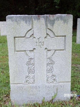 DAUPHINE, REV, JOHN - Hancock County, Mississippi   JOHN DAUPHINE, REV - Mississippi Gravestone Photos