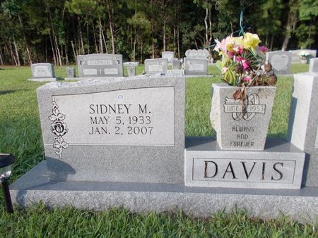 DAVIS, SIDNEY M - Hancock County, Mississippi | SIDNEY M DAVIS - Mississippi Gravestone Photos