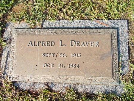 DEAVER, ALFRED L - Hancock County, Mississippi | ALFRED L DEAVER - Mississippi Gravestone Photos