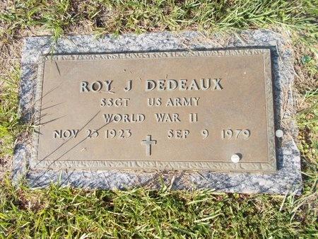 DEDEAUX (VETERAN WWII), ROY J (NEW) - Hancock County, Mississippi   ROY J (NEW) DEDEAUX (VETERAN WWII) - Mississippi Gravestone Photos