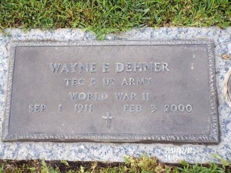 DEHNER (VETERAN WWII), WAYNE E (NEW) - Hancock County, Mississippi | WAYNE E (NEW) DEHNER (VETERAN WWII) - Mississippi Gravestone Photos