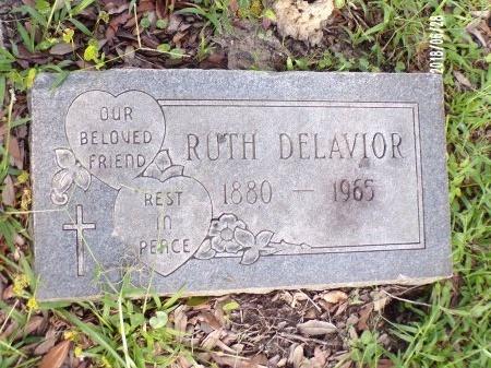 DELAVIOR, RUTH - Hancock County, Mississippi | RUTH DELAVIOR - Mississippi Gravestone Photos
