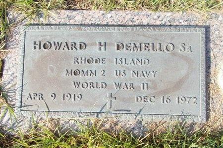 DEMELLO (VETERAN WWII), HOWARD H., SR (NEW) - Hancock County, Mississippi | HOWARD H., SR (NEW) DEMELLO (VETERAN WWII) - Mississippi Gravestone Photos