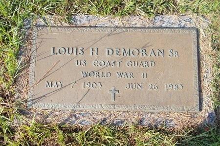 DEMORAN (VETERAN WWII), LOUIS H., SR (NEW) - Hancock County, Mississippi | LOUIS H., SR (NEW) DEMORAN (VETERAN WWII) - Mississippi Gravestone Photos