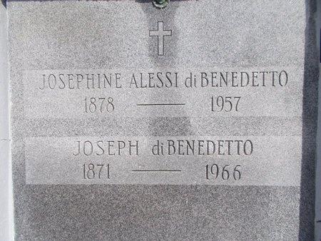 DIBENEDETTO, JOSEPHINE - Hancock County, Mississippi   JOSEPHINE DIBENEDETTO - Mississippi Gravestone Photos