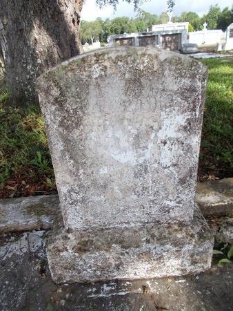 DIBENEDETTO, UNKNOWN - Hancock County, Mississippi | UNKNOWN DIBENEDETTO - Mississippi Gravestone Photos