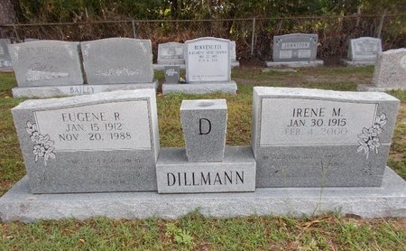 DILLMANN, EUGENE R - Hancock County, Mississippi | EUGENE R DILLMANN - Mississippi Gravestone Photos