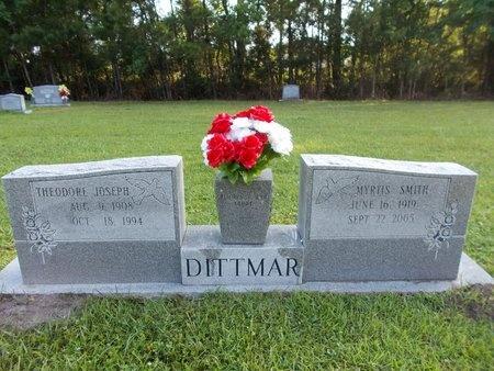 DITTMAR, MYRTIS - Hancock County, Mississippi   MYRTIS DITTMAR - Mississippi Gravestone Photos