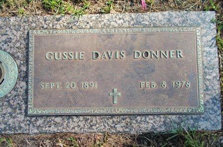 DAVIS DONNER, GUSSIE - Hancock County, Mississippi | GUSSIE DAVIS DONNER - Mississippi Gravestone Photos