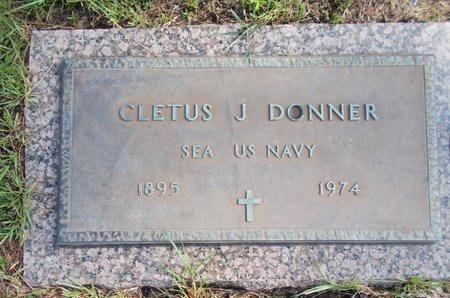 DONNER (VETERAN), CLETUS J (NEW) - Hancock County, Mississippi | CLETUS J (NEW) DONNER (VETERAN) - Mississippi Gravestone Photos