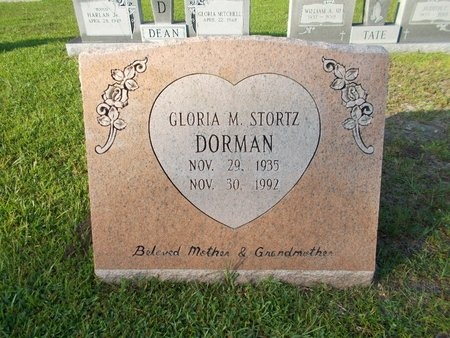 DORMAN, GLORIA M - Hancock County, Mississippi | GLORIA M DORMAN - Mississippi Gravestone Photos