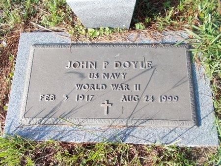 DOYLE (VETERAN WWII), JOHN P (NEW) - Hancock County, Mississippi | JOHN P (NEW) DOYLE (VETERAN WWII) - Mississippi Gravestone Photos
