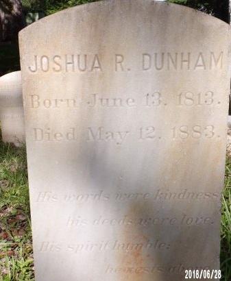 DUNHAM, JOSHUA RAYBURN - Hancock County, Mississippi | JOSHUA RAYBURN DUNHAM - Mississippi Gravestone Photos