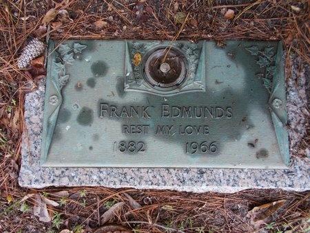EDMUNDS, FRANK - Hancock County, Mississippi | FRANK EDMUNDS - Mississippi Gravestone Photos