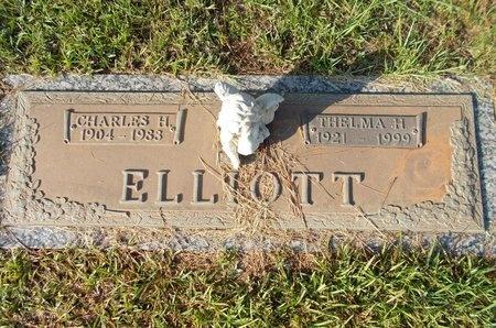ELLIOTT, THELMA H - Hancock County, Mississippi | THELMA H ELLIOTT - Mississippi Gravestone Photos