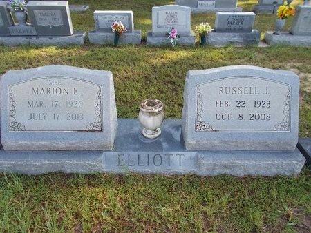 ELLIOTT, RUSSELL J - Hancock County, Mississippi | RUSSELL J ELLIOTT - Mississippi Gravestone Photos