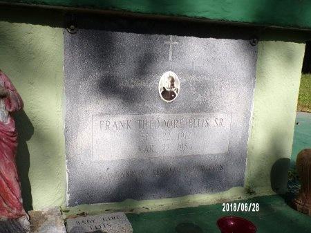 ELLIS, FRANK THEODORE, SR - Hancock County, Mississippi | FRANK THEODORE, SR ELLIS - Mississippi Gravestone Photos