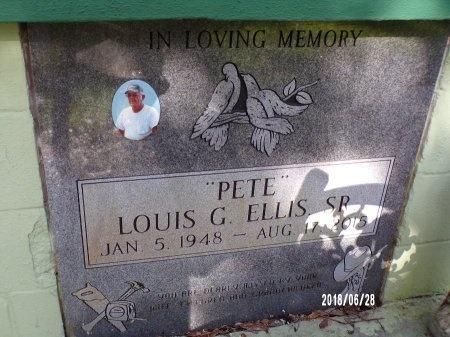"ELLIS, LOUIS G, SR ""PETE"" - Hancock County, Mississippi | LOUIS G, SR ""PETE"" ELLIS - Mississippi Gravestone Photos"
