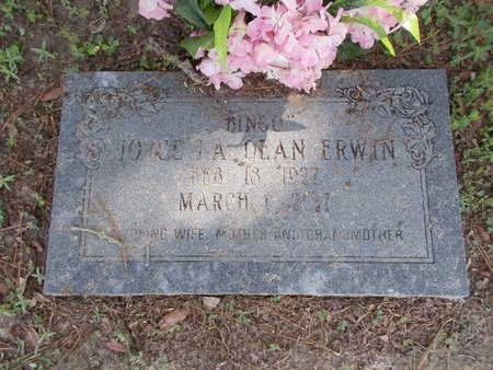 ERWIN, JOYCE LADEAN (OBIT) - Hancock County, Mississippi | JOYCE LADEAN (OBIT) ERWIN - Mississippi Gravestone Photos