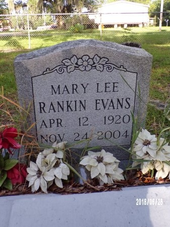 EVANS, MARY LEE - Hancock County, Mississippi | MARY LEE EVANS - Mississippi Gravestone Photos
