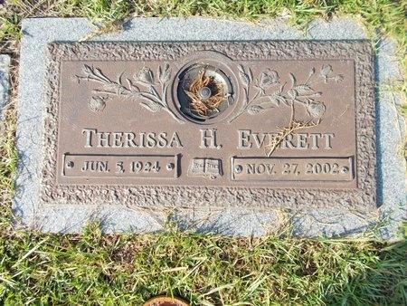 EVERETT, THERISSA H - Hancock County, Mississippi | THERISSA H EVERETT - Mississippi Gravestone Photos