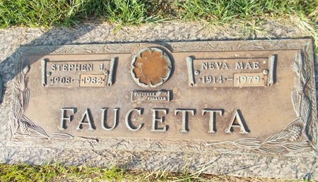 FAUCETTA, NEVA MAE - Hancock County, Mississippi | NEVA MAE FAUCETTA - Mississippi Gravestone Photos