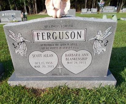 FERGUSON, SCOTT ALLAN - Hancock County, Mississippi | SCOTT ALLAN FERGUSON - Mississippi Gravestone Photos