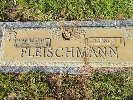 FLEISCHMANN, HARRY G - Hancock County, Mississippi | HARRY G FLEISCHMANN - Mississippi Gravestone Photos