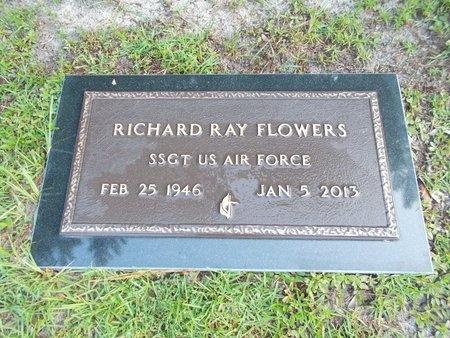 FLOWERS (VETERAN), RICHARD RAY (NEW) - Hancock County, Mississippi | RICHARD RAY (NEW) FLOWERS (VETERAN) - Mississippi Gravestone Photos
