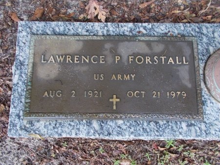 FORSTALL (VETERAN), LAWRENCE P (NEW) - Hancock County, Mississippi | LAWRENCE P (NEW) FORSTALL (VETERAN) - Mississippi Gravestone Photos