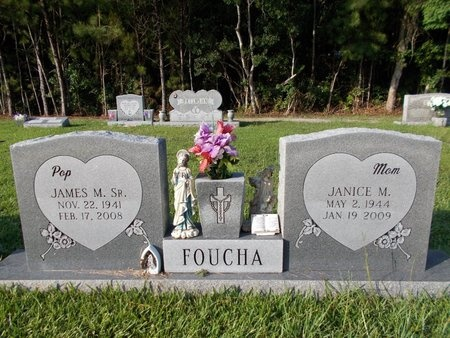 FOUCHA, JAMES M., SR - Hancock County, Mississippi | JAMES M., SR FOUCHA - Mississippi Gravestone Photos