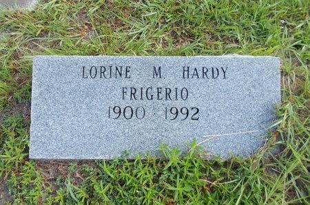 HARDY FRIGERIO, LORINE M - Hancock County, Mississippi | LORINE M HARDY FRIGERIO - Mississippi Gravestone Photos