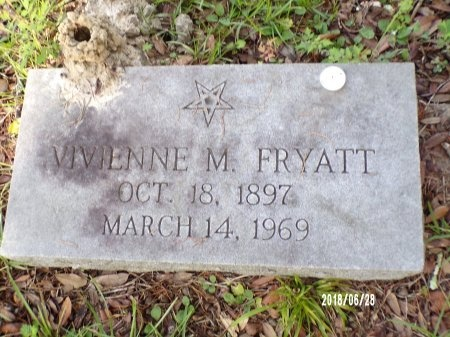 FRYATT, VIVIENNE M - Hancock County, Mississippi   VIVIENNE M FRYATT - Mississippi Gravestone Photos