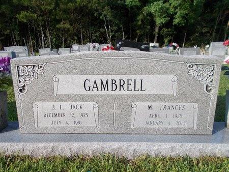 CARLISLE GAMBRELL, MATTIE FRANCES (OBIT) - Hancock County, Mississippi | MATTIE FRANCES (OBIT) CARLISLE GAMBRELL - Mississippi Gravestone Photos